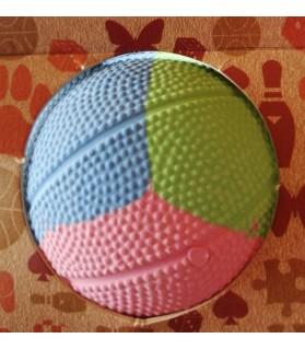 balles pour chien jouet balle dure pour chien Rubb'n bleu-rose-vert Martin Sellier 11,00€