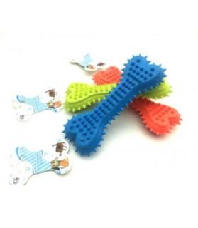 Jouets dentitions canines jouet chien Os hérisson vert anis Haustierbedarf 8,00€
