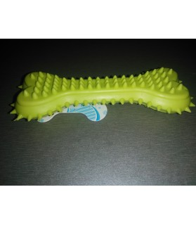 Jouets dentitions canines jouet chien Os hérisson vert anis Haustierbedarf 8,00 €