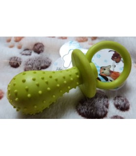 jouets canins sonores Sucette dentition vert Haustierbedarf 6,00€