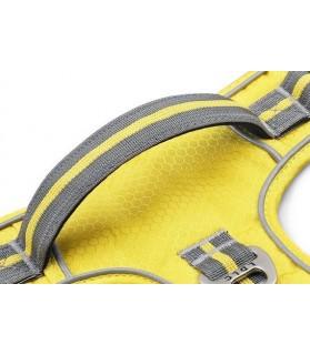 harnais en H Harnais chien réfléchissant jaune  24,00€