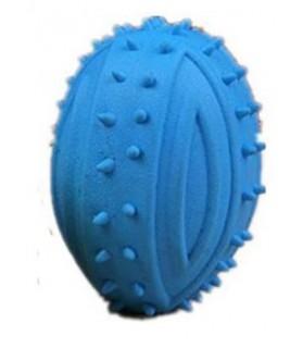Balle ovale sonore bleu