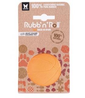 balles pour chien Jouet balle chien Rubb'n volley orange 7 cm Rubb'n'Roll 9,00€