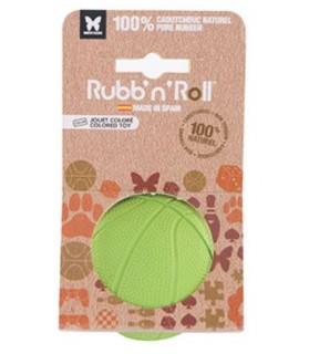 balles pour chien Jouet balle pour chien Rubb'n volley verte 7 cm Rubb'n'Roll 9,00€