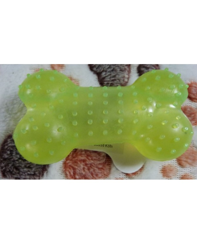 jouets canins friandises Os silicone friandise vert Haustierbedarf 5,00€
