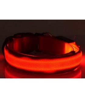 Colliers LED Collier chien Led orange XL  11,00€