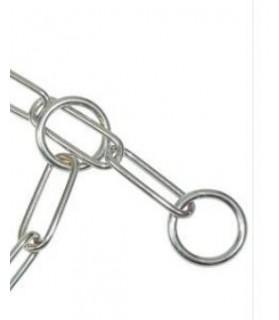 Colliers de Travail Collier de dressage metalique chromé 60 cm VIVOG 9,00€