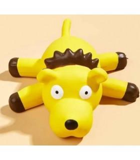 Jouet chien jaune sonore