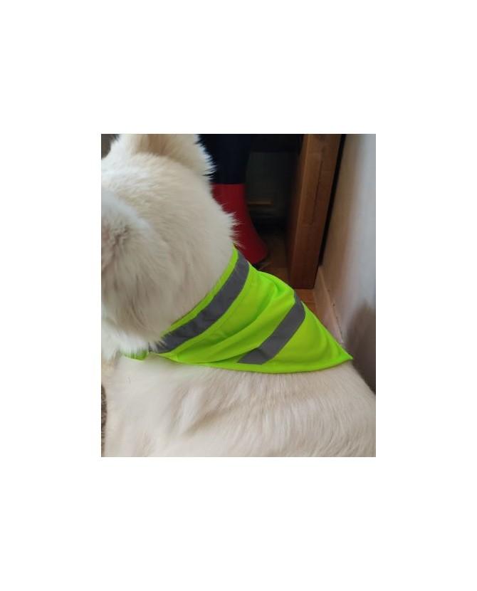 Gilet fluorescent pour chien Bandana jaune fluorescent de sécurité pour chien - TL Mutli-marques 9,00€