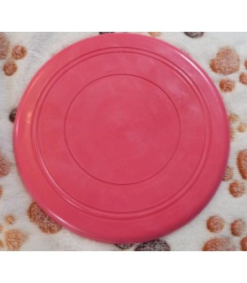 jouets canins mous Frisbee souple rose  6,00 €