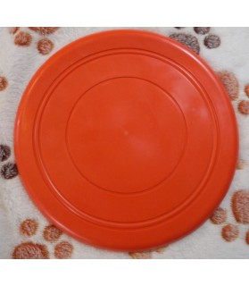 jouets canins mous Frisbee souple orange  6,00 €