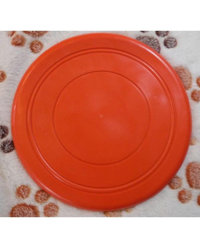 jouets canins mous Frisbee souple orange  6,00€