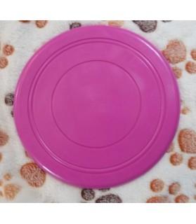 jouets canins mous Frisbee souple mauve  6,00€