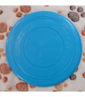 jouets canins mous Frisbee souple bleu  6,00€