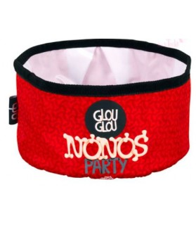 Gamelles promenade canine Bol Nonos party rouge  5,00 €