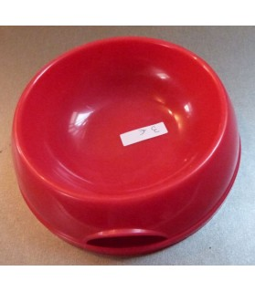 Gamelles plastiques pour chien ou chiot Gamelle plastique rouge  3,00€