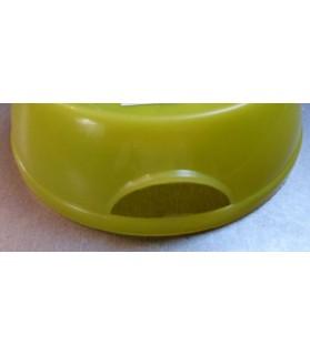 Gamelles plastiques pour chien ou chiot Gamelle plastique jaune  3,00€