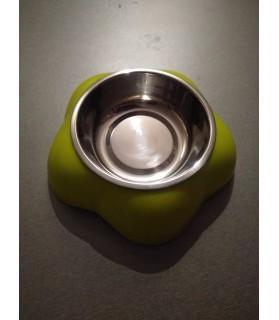 Gamelles Inox pour chien ou chiot Gamelle inox amovible sur support  7,00€