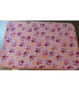 Tapis pour chien ou chiot Tapis douceur rose  9,00 €
