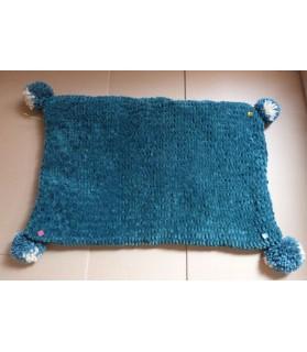 couvertures pour chat couchage chat - couverture pour chat vert Kijan Chez Anilou 26,00€
