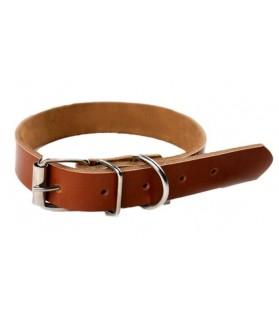 Colliers simili et cuir Collier chien de chasse ou promenade en cuir  7,00€