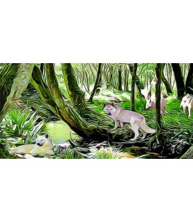 Tableaux Tableaux d'artistes sur le thème des animaux  15,00€