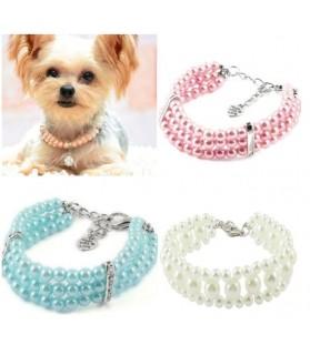 Colliers nylon Collier de Perles pour chien Chez Anilou 10,00€