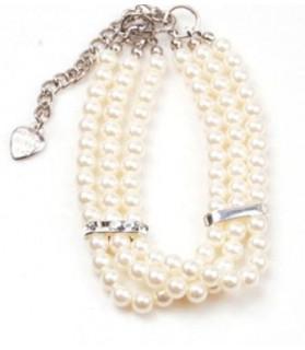 Colliers nylon Collier de Perles  10,00€
