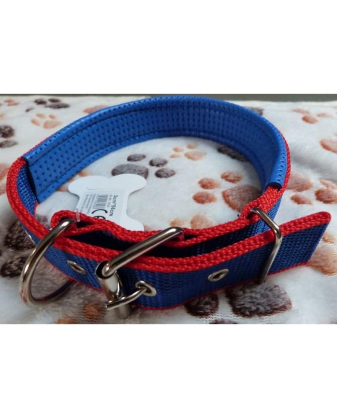 Colliers nylon Collier chien nylon avec boucle 56 cm  9,00€