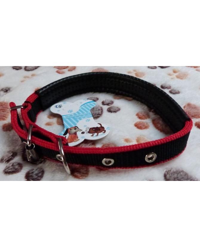 Colliers nylon Collier chien nylon avec renfort confort  7,00€