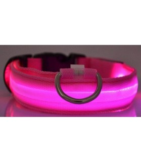 Colliers LED Collier chien Led rose  9,00 €