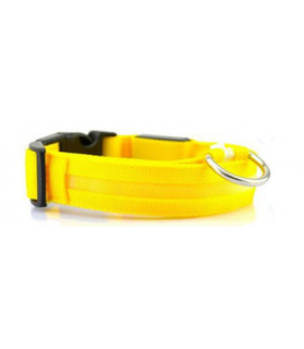 Colliers LED Collier chien Led Jaune  9,00€