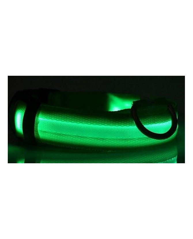 Colliers LED Collier chien Led vert  11,00€