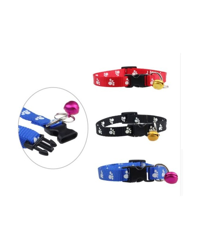 Colliers chat Collier chat Nylon Papattes  3,50€
