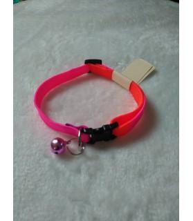 Colliers nylon Collier arc-en ciel Rose-orange  3,50€