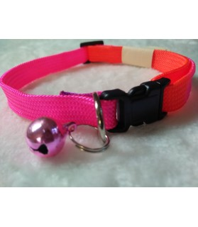 Colliers nylon Collier arc-en ciel Rose-orange  3,50 €