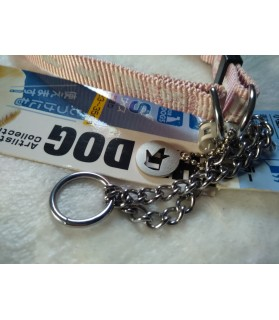 Colliers nylon Collier chien rose The Dog - 35 cm Mutli-marques 12,00€