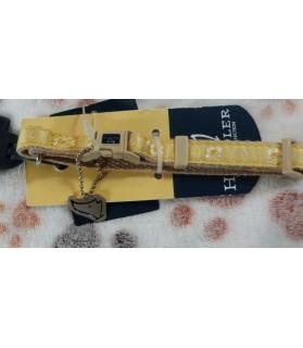 Colliers nylon Collier chien jaune Handler  3,50€