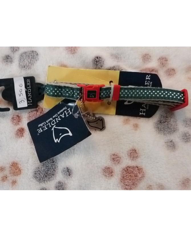 Colliers nylon Collier chien vert Handler - de 20 à 25 cm  3,50€