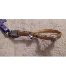 Colliers chat Collier chat jaune-gris Pet Club  3,50€