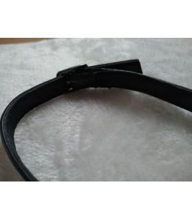 Colliers simili et cuir Collier noir Simplissime  3,50€
