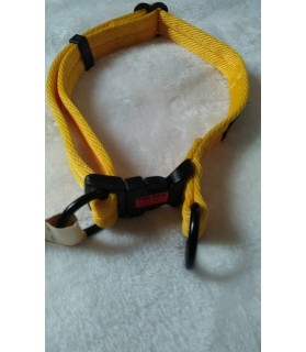Colliers nylon Collier chien plat Jaune The Dog  12,00€